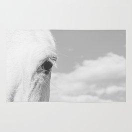 Modern Horse Photograph Rug