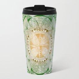 Metta Mandala, Loving Kindness Meditation Travel Mug