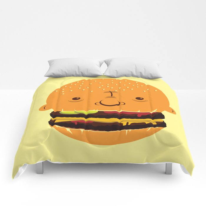 Cheeseburgerhead Comforters