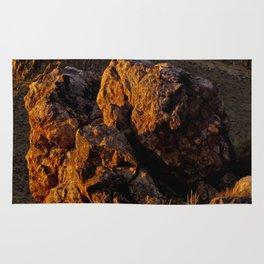 Rock in the Desert Rug