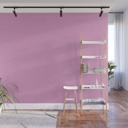 Solid Color Dark Pastel Pink Pairs to Pantone 15-2913 Lilac Chiffon Wall Mural
