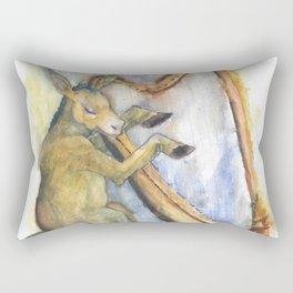 The Poet Rectangular Pillow