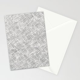 Ink Weaves: White Alabaster Stationery Cards