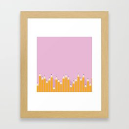 pencils.jpg Framed Art Print
