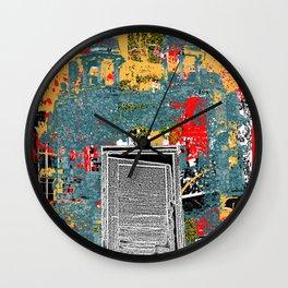 Psychedelic Delhi Wall Clock