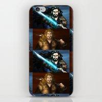 thorin iPhone & iPod Skins featuring Thorin & Fili by wolfanita