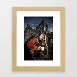 Hunchback Bam Framed Art Print