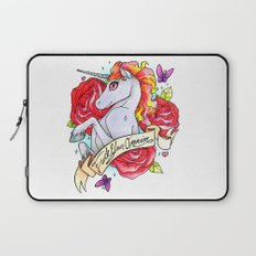 F*ck Your Opinion Laptop Sleeve