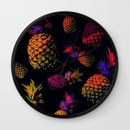 ananas design Wall Clock