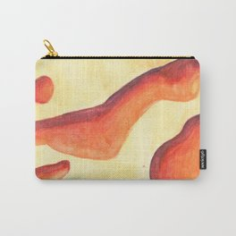 Lava Lamp Study in Reds and Oranges Carry-All Pouch