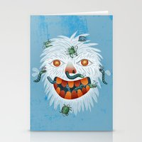 yeti Stationery Cards featuring Yeti by Santiago Uceda