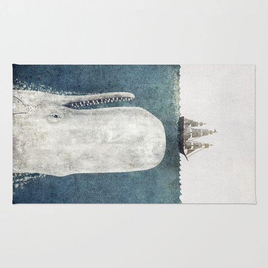 The Whale - vintage  Rug