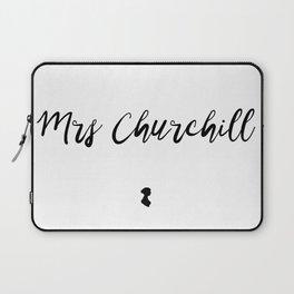 Mrs Churchill Laptop Sleeve