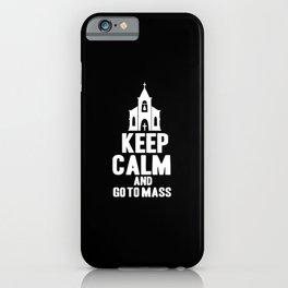 Catholic Church Priest Catholicism Mass iPhone Case