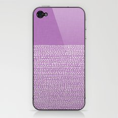 Riverside - Radiant Orchid iPhone & iPod Skin