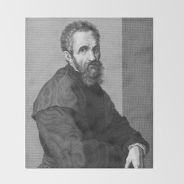 Michelangelo Throw Blanket