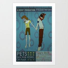 Pets Poster Art Print