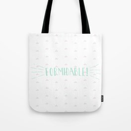 Formidable Lettering Tote Bag