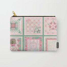 Buttons and Bows Quilt Carry-All Pouch