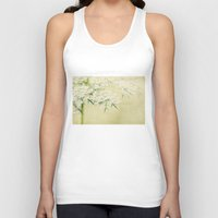 lace Tank Tops featuring lace by Bonnie Jakobsen-Martin