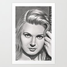 Play it like Bergman Art Print