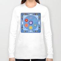 chakra Long Sleeve T-shirts featuring Chakra Vision by Sunshine
