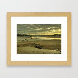 River Torridge at Instow  Framed Art Print