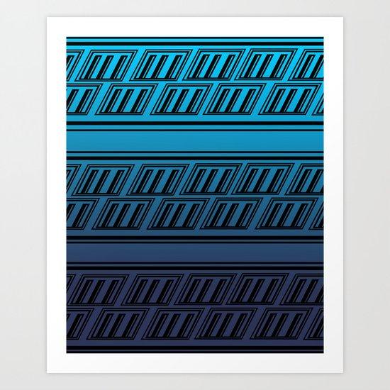 2 Art Print