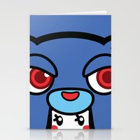 pagan Stationery Cards featuring Pagan Blue by Pagan Holladay