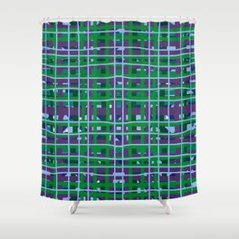 Preppy Plaid Shower Curtain
