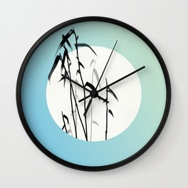 Reed Begin to Sprout Wall Clock