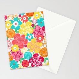 Big Summer Floral Stationery Cards