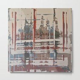 Waterlogged Metal Print
