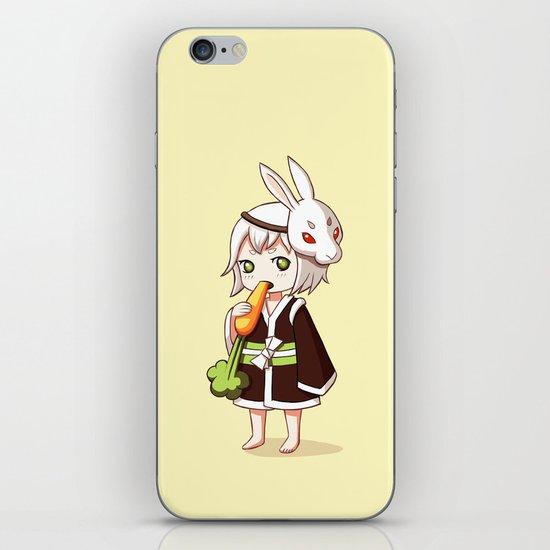 Bunny Mask iPhone & iPod Skin