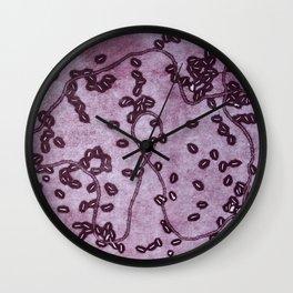 Bacteria 2 Wall Clock