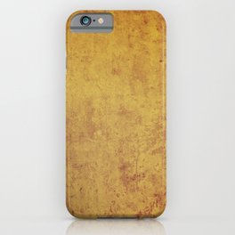 vintage retro style wall background,  stone texture iPhone Case
