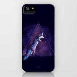 Fox Galaxy  iPhone Case