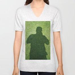 Shadow Man Unisex V-Neck