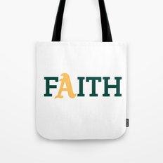 Oakland A's Faith Tote Bag