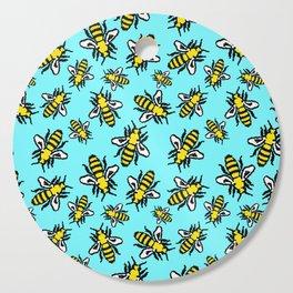 Honey Bee Swarm Cutting Board