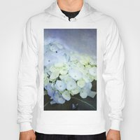 hydrangea Hoodies featuring Hydrangea Blossoms  by Pure Nature Photos