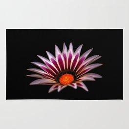 Big Kiss White Flame Flower Rug