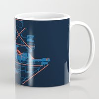 60s Mugs featuring O'Hare (ORD) - 60s by Kyle Rodgers