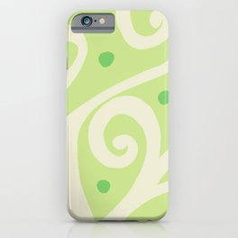 Tree of life - Lime iPhone Case