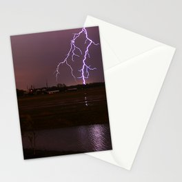Twin Light Stationery Cards
