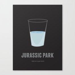 Jurassic Park Canvas Print