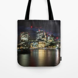 London by Night 2.0 Tote Bag