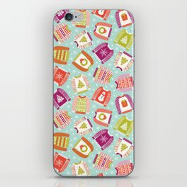 Ugly Christmas Sweaters iPhone Skin