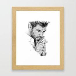 Chris Hemsworth Framed Art Print