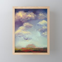 Farnese Sunset Framed Mini Art Print